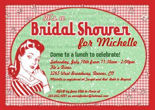 aceea2c8168 Nifty 50 s Bridal Shower Invitation