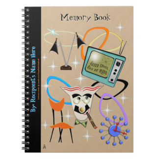 Nifty Fifties Iconic Images - Personalized Notebook