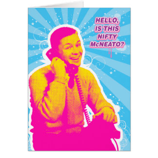 NIFTY McNEATO Card