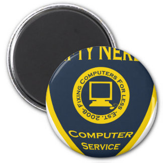 Nifty Nerds 2 Inch Round Magnet