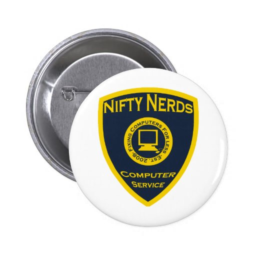 Nifty Nerds Buttons