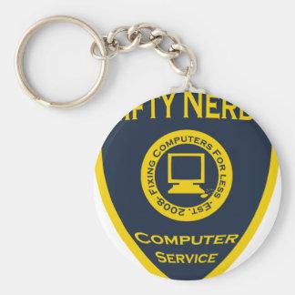 Nifty Nerds Keychain