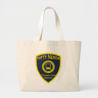 Nifty Nerds Large Tote Bag