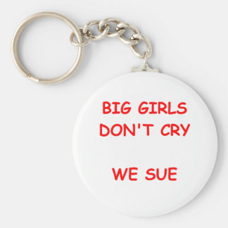 nig girls basic round button keychain