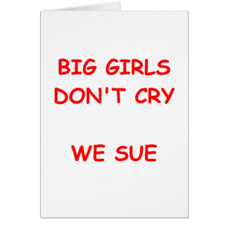 nig girls greeting cards