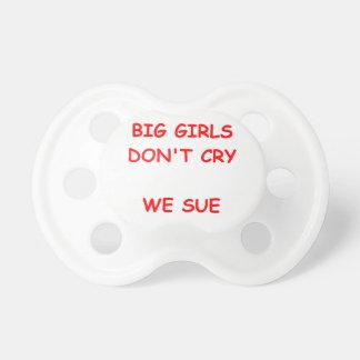 nig girls pacifiers