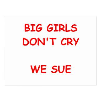 nig girls postcard