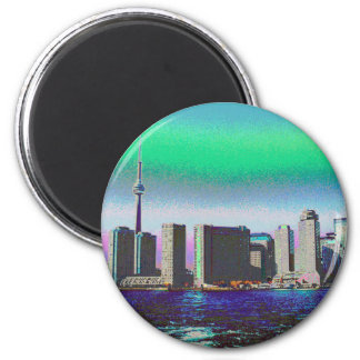Nigara baja torre CA del NC de Toronto CNTower de Iman De Frigorífico