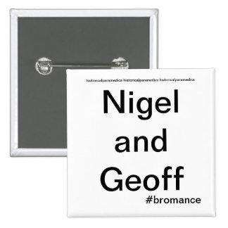 Nigel and Geoff - Historical Paramedics Pin