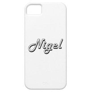 Nigel Classic Retro Name Design iPhone 5 Covers
