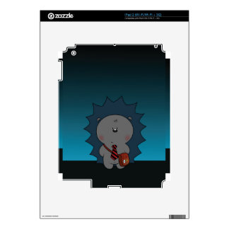 nigel the hedgehog skins for the iPad 2