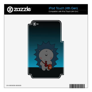 nigel the hedgehog iPod touch 4G decals