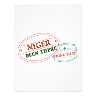 Niger Been There Done That Letterhead