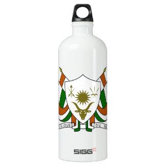 Niger Coat of Arms Aluminum Water Bottle