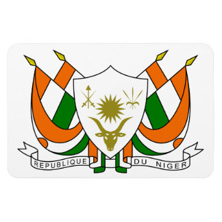 Niger Coat Of Arms Magnet
