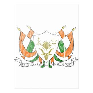 Niger Coat Of Arms Postcard