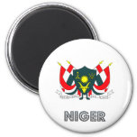 Niger Coat of Arms Refrigerator Magnets