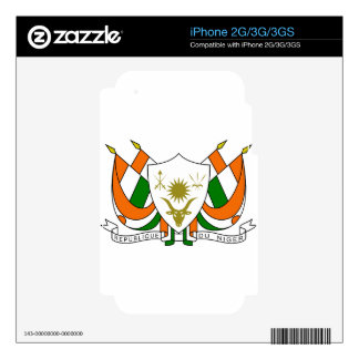 Niger Coat Of Arms Decal For iPhone 2G