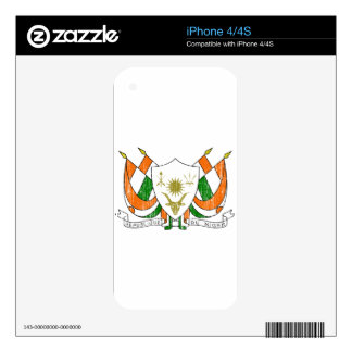 Niger Coat Of Arms Skins For The iPhone 4