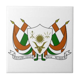 Niger Coat of Arms Ceramic Tiles