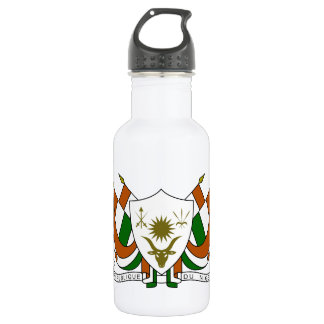 Niger Coat of Arms Water Bottle