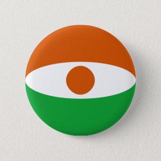 Niger Fisheye Flag Button