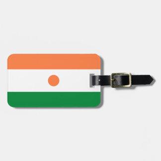 Niger Flag Bag Tag