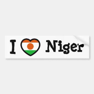 Niger Flag Bumper Sticker