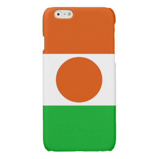 Niger Flag Glossy iPhone 6 Case