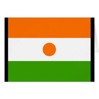 Niger Flag Greeting Card