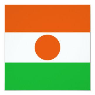 Niger Flag Invitation