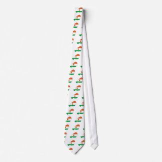Niger Flag Map full size Custom Tie