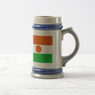 Niger Flag 18 Oz Beer Stein