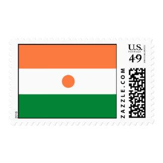 Niger Flag Postage