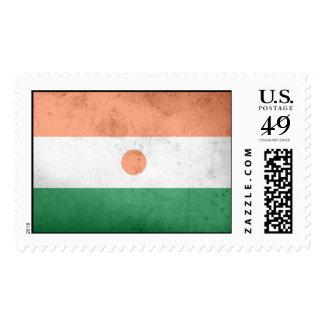 Niger Flag Postage Stamp