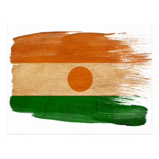 Niger Flag Postcards