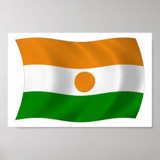 Niger Flag Poster Print