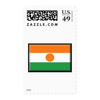 Niger Flag Stamp