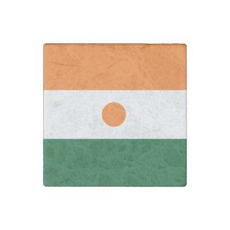 Niger Flag Stone Magnet