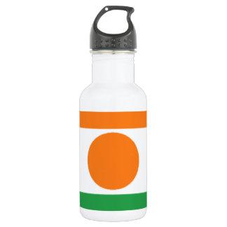 Niger Flag Water Bottle