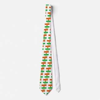 Niger Flag with Name Ties