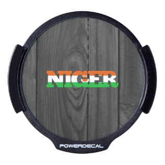 Niger LED Car Decal