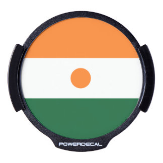 Niger LED Window Decal