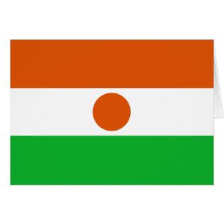Niger, Nicaragua flag Greeting Card