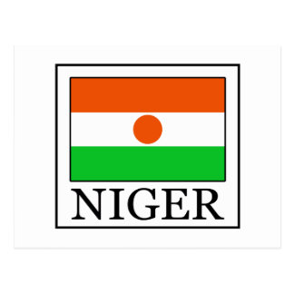 Niger Postcard