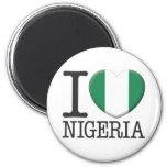 Nigeria 2 Inch Round Magnet