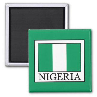 Nigeria 2 Inch Square Magnet