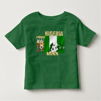 Nigeria 32 countries flag of Naija T T Shirt