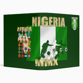 Nigeria 32 country soccer cup fans binding file 3 ring binder
