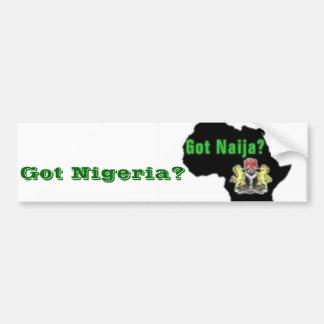Nigeria , Africa T-Shirt and Etc Bumper Sticker